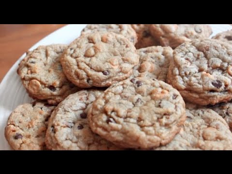 Butterscotch Toffee Chocolate Chip Cookies