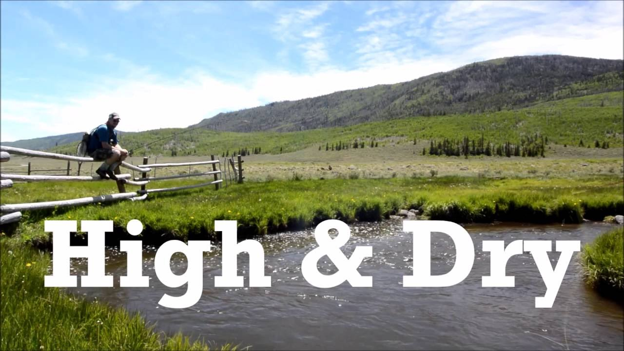 High dry fly fishing in southern utah youtube for How much is a fishing license in utah