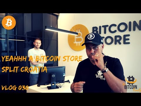 We checked the Bitcoin Store in Split Croatia | vlog 030