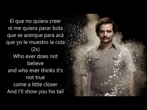 NARCOS - La Pelea Con el Diablo (With Spanish and English lyrics)