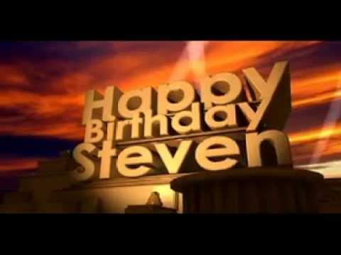 Steve Birthday Cake Images