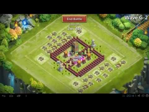 Castle Clash First Video