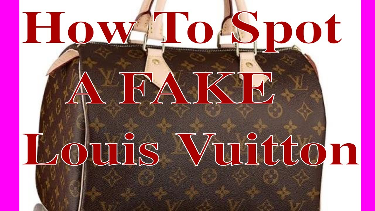 d2b654c05331 How to spot a Fake Louis Vuitton On ebay