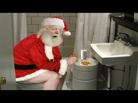 Funny Christmas Song for all Ages!!! Santa - On the Throne Again ...