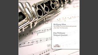 4 Studien zu einem Klarinettenquintett: IV. Calmo sostenuto