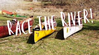 Let's Paddle: A Canoe Race!