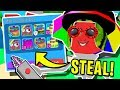 MAD SCIENTIST CREATES *GADGET* THAT CAN *STEAL* ANY SECRET PETS IN ROBLOX BUBBLEGUM SIMULATOR!!