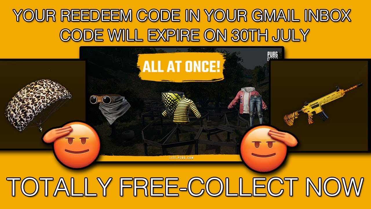 Pubg Lite Free Rewards How To Redeem Pubg Lite Code