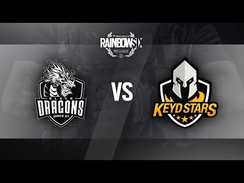 R6 PRO LEAGUE | KEYD STARS vs BLACK DRAGONS