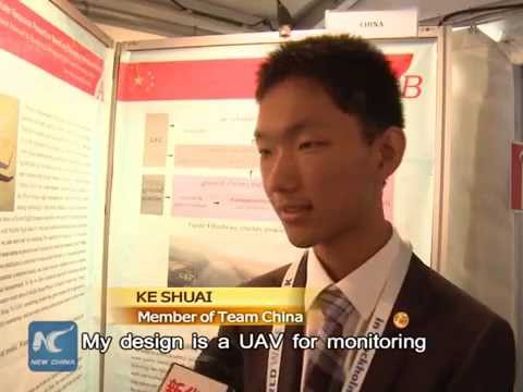Chinese teen praised at World Water Week