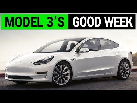 Why Tesla Model 3 Had a Good Week