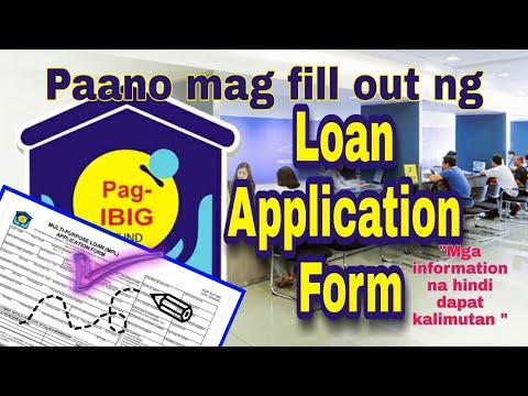 Pag-IBIG Loan Application Form |  GUIDE | Tamang Pag Fill-out Para Sa Online Application