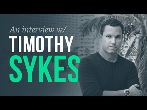 The hustle 'n grind – Timothy Sykes Interview (penny stock trader)