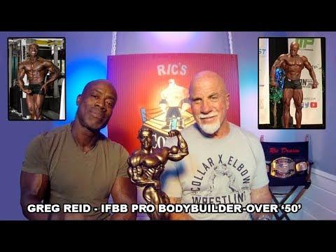 Greg Reid IFBB Pro Bodybuilder Over 50