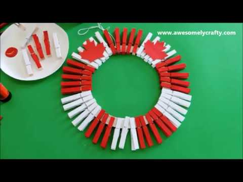 3 Easy Canada Day Crafts