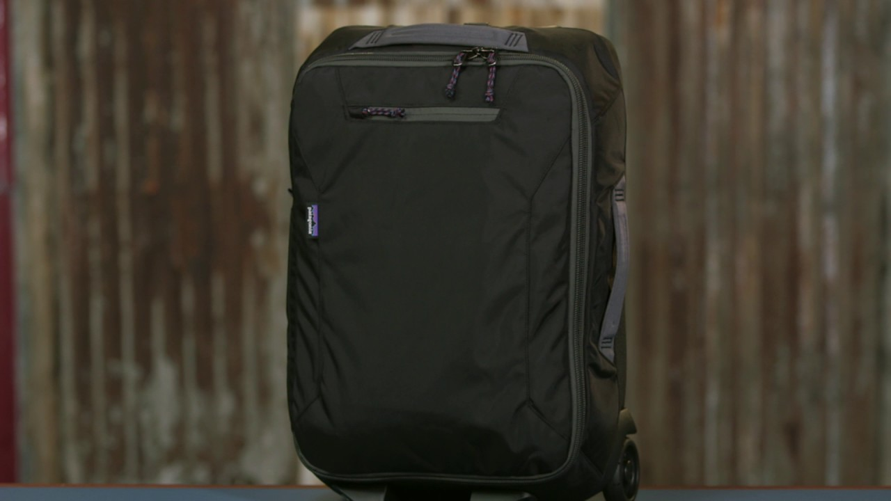 04f251326f Fall in Love with the Patagonia Headway Wheeled Duffel 35L - YouTube