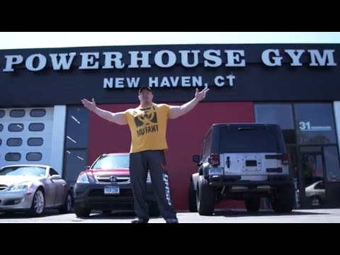 MUTANT ON A MISSION - Montanari Bros Powerhouse Gym, New Haven CT