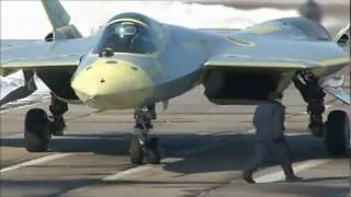 Sukhoi - T-50 Pak Fa Stealth Fighter 2nd Prototype First Flight [480p]
