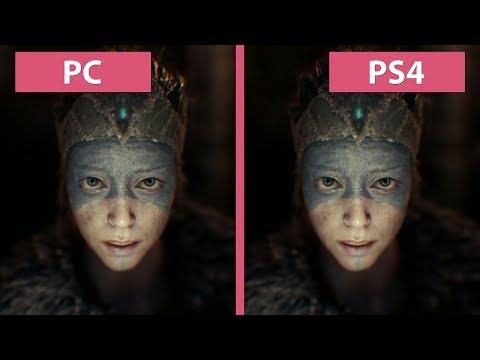 Hellblade Senua's Sacrifice – PC vs. PS4 Graphics Comparison