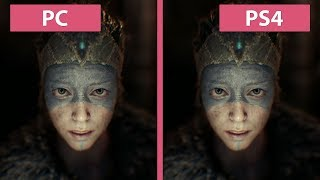 Hellblade Senua s Sacrifice PC vs. PS4 Graphics Comparison