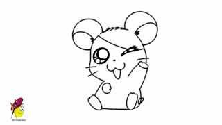 Sweet Hamtaro - How to draw Hamtro