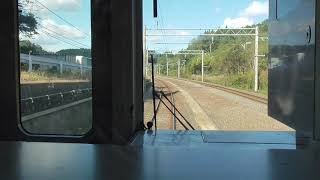 JR奥羽本線 鶴ヶ坂→青森【701系・前面展望・653M】 2020.10.20 JR Ōu Main Line