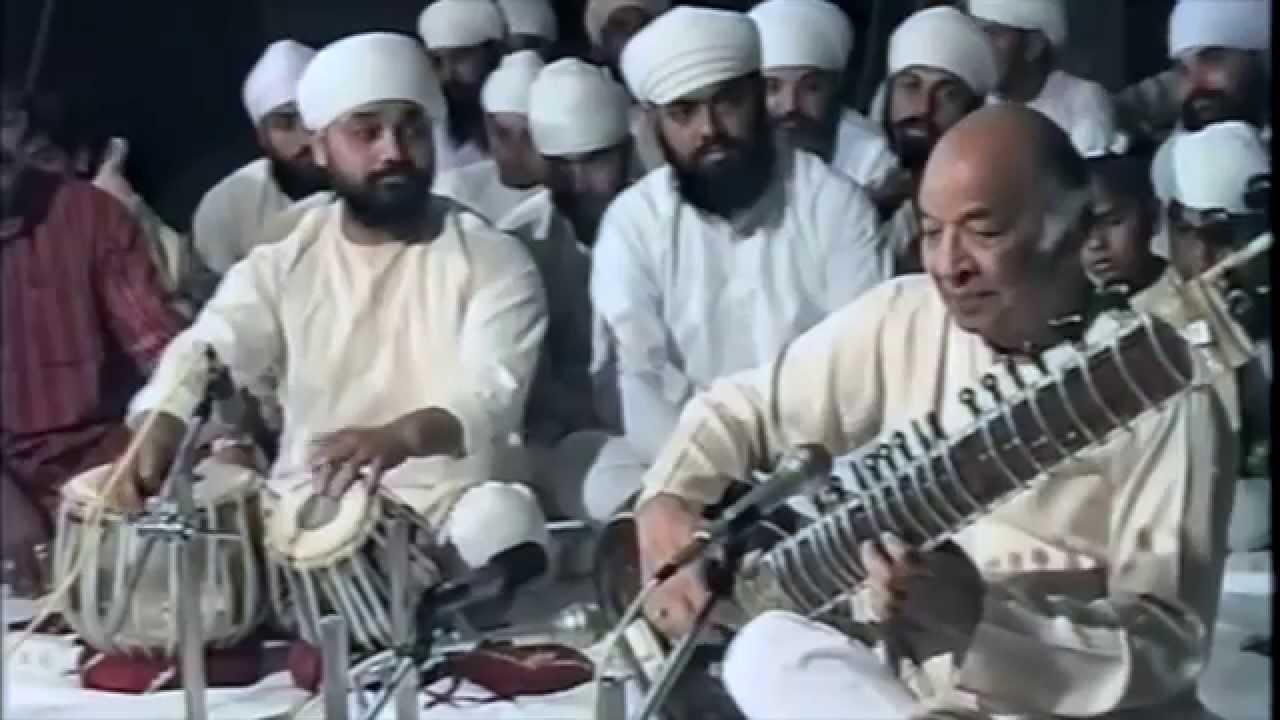 Raag Bihag - Ustad Vilayat Khan and Ustad Sukhwinder Singh Pinky Ji
