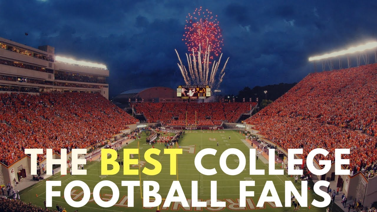 17c0874bd2c The Best College Football Fans - YouTube