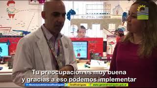 SISTEMA DE TELEMEDICINA ENTRE EL HOSPITAL GARRAHAN Y GENERAL RODRÍGUEZ