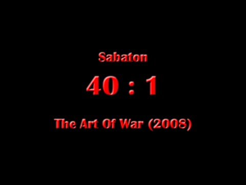 Sabaton - 40 : 1 (Lyrics English & Deutsch)