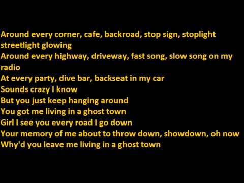 Jake Owen - Ghost Town Lyrics