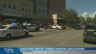 No suspect found after multiple reports of shooting in Houston hospital