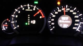 Honda accord разгон 0-200