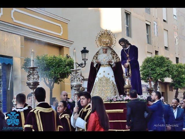 LA LINEA COFRADE. TRASLADO PENAS Y DOLORES 2019
