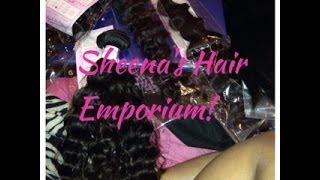Unboxing| Sheena