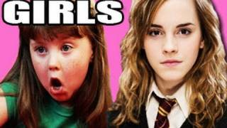 Harry Potter and the Deathly Hallows Trailer Part 2 Deleted Scenes - The Girls (Kids React #13)