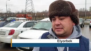 Ўзбекистонлик таксичилар президент Мирзиëевдан 3 долларли божни олиб ташлашни сўради