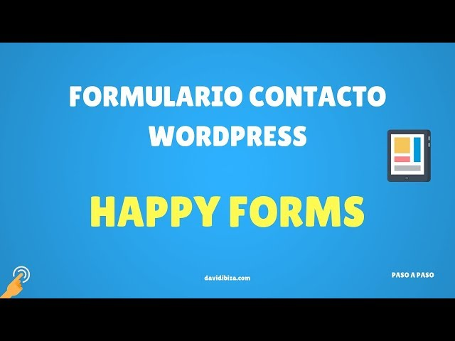 Happyforms | Formularios de Contacto para WordPress Gratis