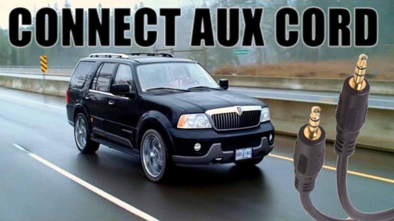 how to connect auxiliary to a 2004 lincoln navigator youtube rh youtube com FM Antennas for Home Stereos FM Radio Antenna