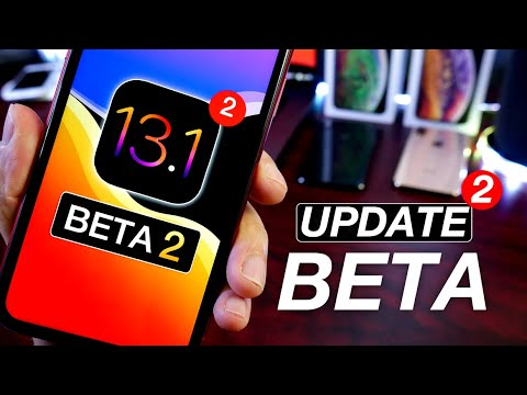 iOS 13 1 Beta 2 & Public Beta is Out - What's New