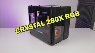 Mała - Duża obudowa / Corsair Crystal 280X RGB