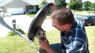 9. Pointing the Dish - TR-6100 Winegard Portable Satellite Dish & Tripod Kit thumbnail