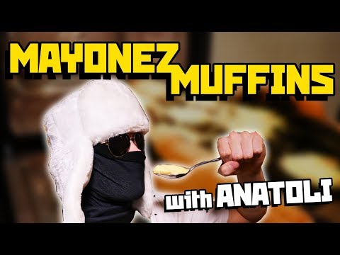 Mayonez Muffins with Anatoli (CENSORED YouTube version) - Cooking with Boris