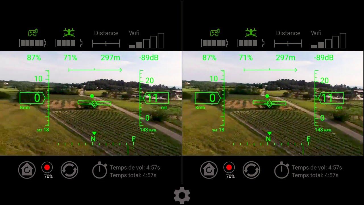 Bebop 2 en FPV sous Auriga фотки