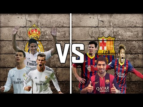 Ronaldo,Rodriguez,Bale VS Messi,Suarez,Neymar    Who Has the Best trio ?    HD   