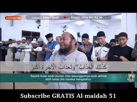 imam Suara Merdu Bacaan Al Quran Sampai Menangis dan Menyentuh Hati