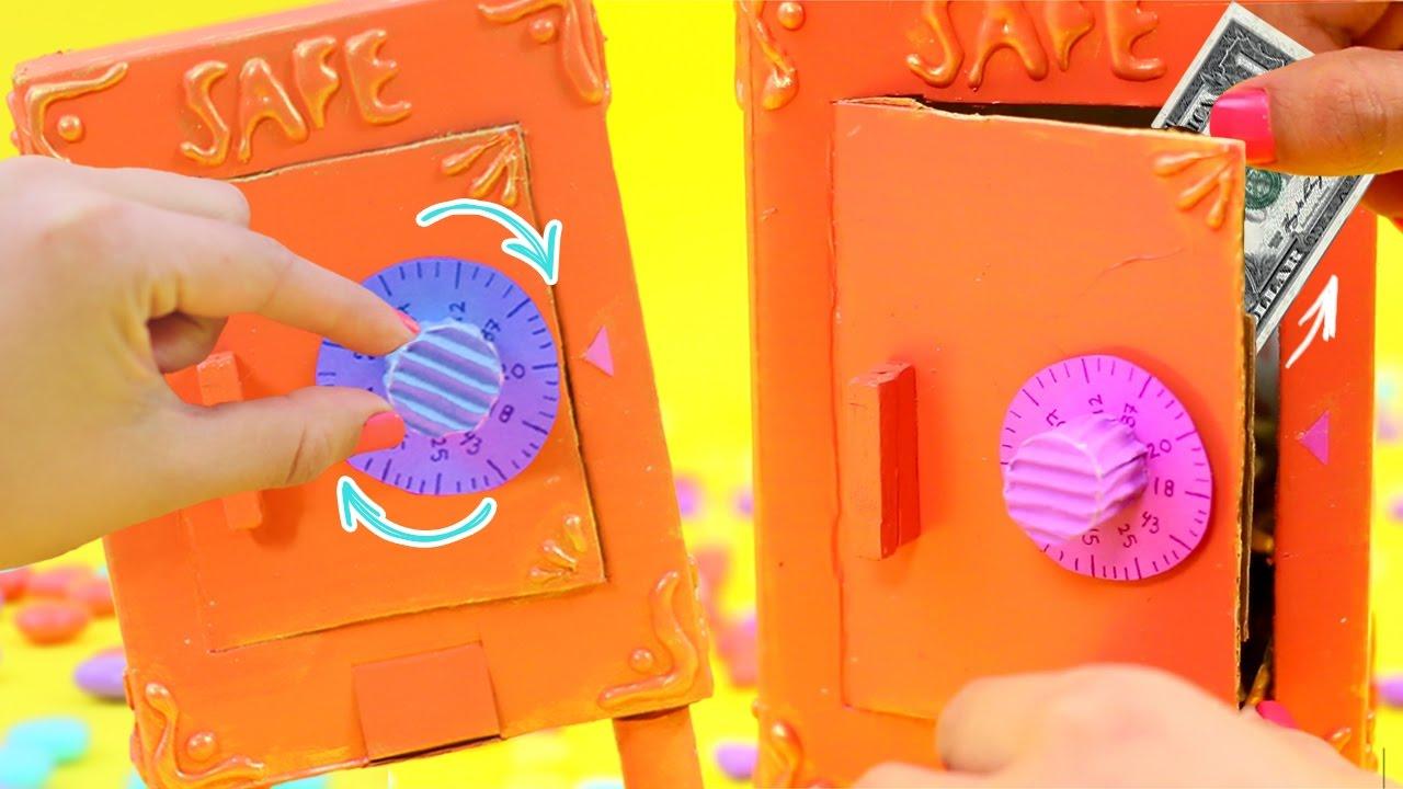Como hacer una caja fuerte casera con combinaci n f cil - Como hacer una caja ...