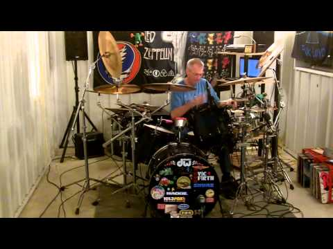 Mama - Genesis drum cover by Rick Flynn