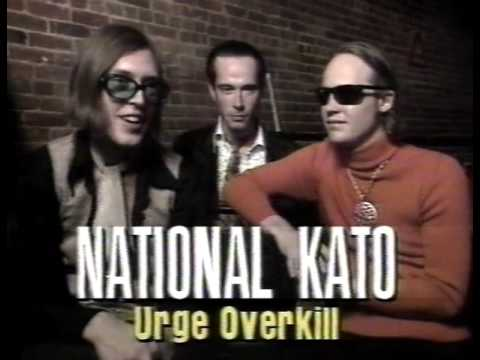 "Urge Overkill - ""x ray"" band profile"