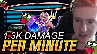 FROGGEN | LUX DEALING A LOT OF DAMAGE IN A SHORT TIME !!